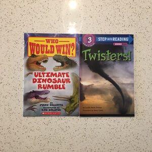 🍀4/$20🍀 Dinosaur and Twister Book Bundle